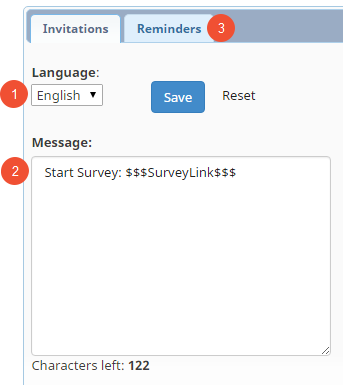 Survey Invitations Via Text Message