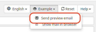 send an example of the email invitation