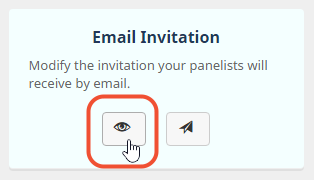 see preview invitation in browser