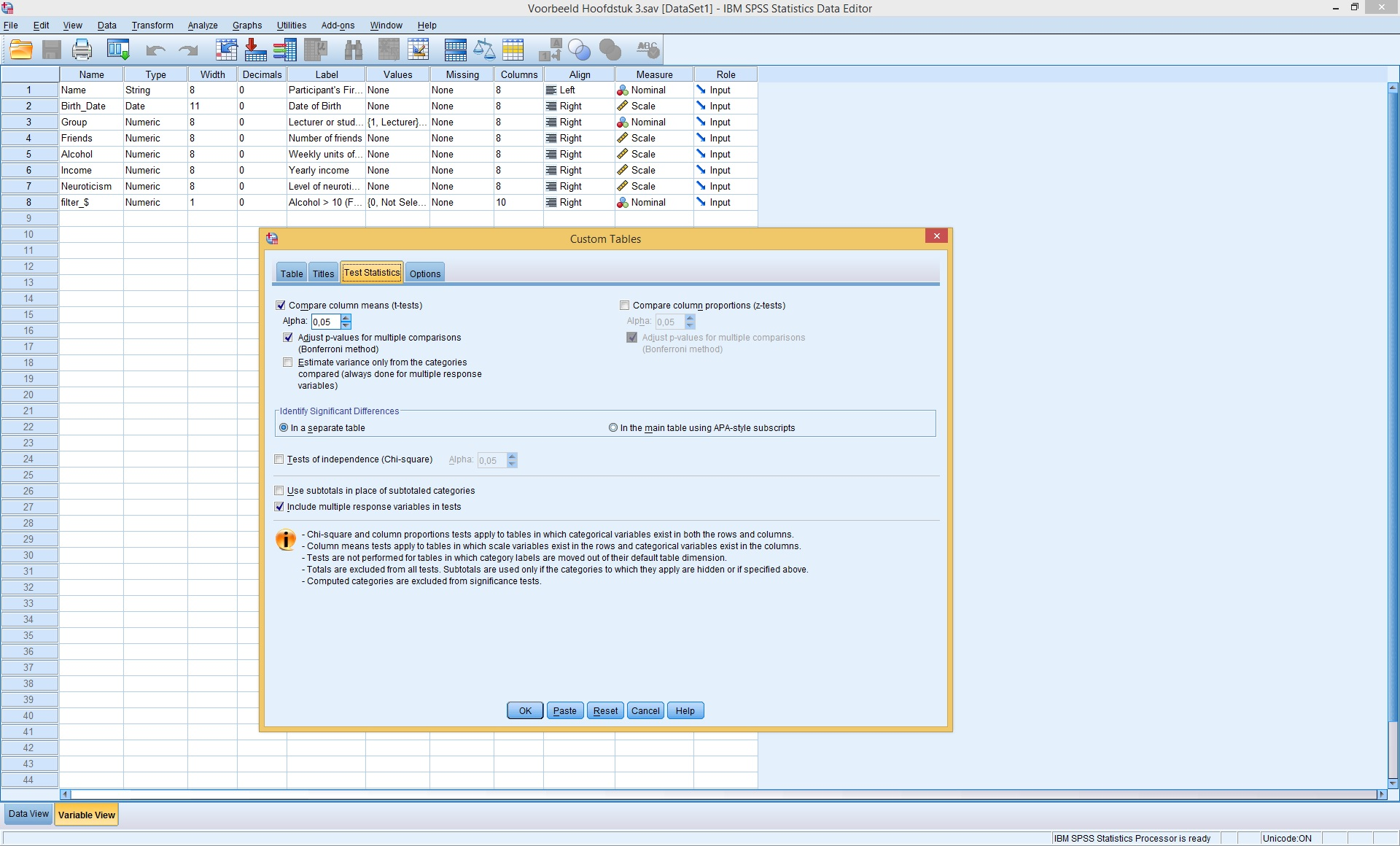 generate spss survey results in one click