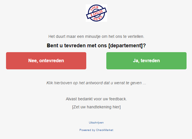 voorbeeld embedded e-mail